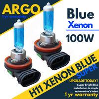 H11 Bleu 100W Xénon Halogène Principal Haut Complet Trempé Faisceau Phare Hid