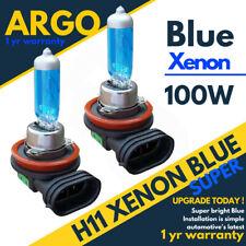 2x 100W 8500K H11 XENON FOG LIGHT BULBS VAUXHALL OPEL CORSA D SRI SI VXR BLUE