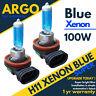 H11 Azul 100W Halógena Xenon Alta Base Completo Luz de Cruce Bombillas para