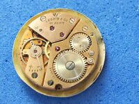 VINTAGE LEBOIS & CO DIAL&MOVEMENT CAL.P320 MANUAL 17 JEWELS SWISS MADE
