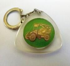 VTG Plastic Keychain Old Car Automobile Key Ring Holder Bière Stammpils Beer