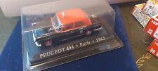 ATLAS 1/43 PEUGEOT 404 TAXI DE PARIS 1962 NEUF EN BOITE