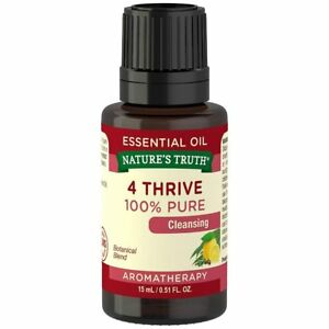 Nature's Truth Vitamins Essential Oil, 4 Thrive, 0.51 Fluid Ounce