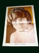 LUIS RAYO - BOXING Original Poster K.O MUNDIAL Argentina 1960's