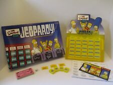 Jeopardy - The Simpsons Edition Jeopardy! Board Game - Complete Game