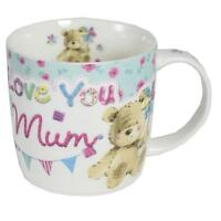 Boxed 'Love you Mum' Teddy Design Mug - Mother's Day