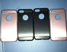 Lot Of 4pc Moshi Armour Cases for iPhone 7 / 8 , Onxy Black & Pink Cases