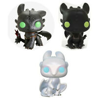 Movie How to Train Your Dragon 2 Funko Pop Toothless Light Fury Figure Toy Gift