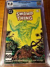Swamp Thing 37 CGC 9.0 White Pages First John Constantine HOT KEY