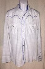 Vintage Kenny Rogers Westernwear Pearl-snap Shirt size L by Karman