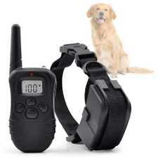 Collar de Adiestramiento para Perros Descarga, Vibracion y Pitido, Antiladridos