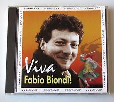 FABIO BIONDI . VIVA FABIO BIONDI . OPUS 111   PROMO CD