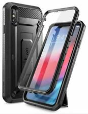 For iPhone Xs Max Case, SUPCASE UBPro Full-Body Cover +Screen +Kickstand +Clip