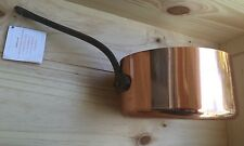 "BAUMALU COPPER SAUCE PAN 7 1/4"" POT  MADE IN FRANCE WEIGHT 3lb 8oz"