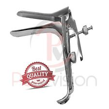 GRAVES VAGINAL SPECULUM Dilation Examination Medical Specula Dilater Steel LARGE