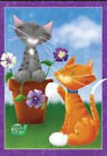 Playful Kitties Garden Flag Pr 51545