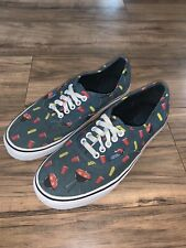 VANS Outdoor Grilling BBQ Solo Cup Blue Shoes Size Mens 9.5 Womens 11 721356