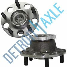 Set (2) New REAR Wheel Hub and Bearing Assembly for Honda Accord w/ABS