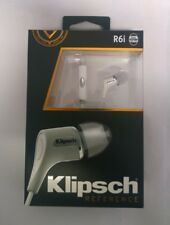 Klipsch R6i White In-Ear Headphone with Patented Oval-Tip - White  - Brand New