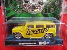 MALIBU INTERNATIONAL LEXANI HUMMER H2 YELLOW 1:64   MIP