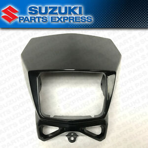 2002 - 2020 SUZUKI DR-Z DRZ 400S SM DR 200 650 OEM HEAD LIGHT COVER MASK BLACK