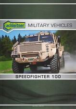 ACHLEITNER SPEEDFIGHTER 100 2016 4x4 SOFRAME MILITARY BROCHURE PROSPEKT FOLDER