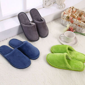 Warmer Women Men Slippers Bottom Home Shoe Cotton Thick Slippers Indoor Slippers