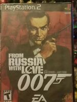 From Russia With Love (Sony PlayStation 2, 2005) Complete