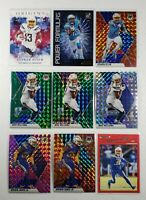 KEENAN ALLEN - Chargers 2020 Origins Mosaic Prizm + Williams + James card lot