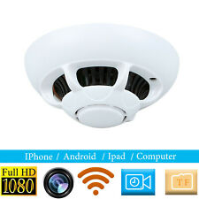 WIFI SPY CAMERA IN SMOKE ALARM FULL HD 1080P 25FPS HIGH QUALITY HDSMART APP