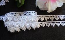 white Lace Trim 1/2 inch wide selling by the yard