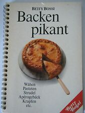 Betty Bossi Cook Book Kochbuch Baken pikant from Switzerland