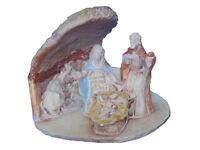Presepe Natività in Sughero e Ceramica, Artigianato Artistico, Presepe, Natale