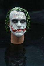 Brand Supreme 1/6 Scale Joker Heath Ledger Head Sculpt For Hot Toys Figure Body