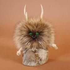 Wolpertinger Wolpi Mini Präparat taxidermy mit grünen Augen taxidermy Geschenk