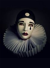 ART PRINT POSTER PHOTO PORTRAIT STUDY PERFORMER PIERROT MASK COSTUME LFMP0761