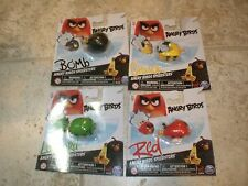 Angry Birds Speedsters - Lot of 4 - Leonard, Bomb, Red and Chuck Free Shipping!