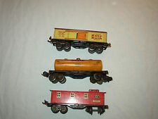Lionel Pre-War Freight Cars 1680,1682,1679 Clean! Lot #B-7