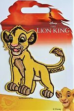 DISNEY SIMBA OFFICIAL iRON ON Applique Motif Patch - Lion King Character 30867