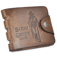 Luxury High Quality Mens Brown Leather Wallet Gift Soft Cow Boy Card Holder