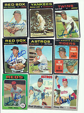 1971 Topps Tom Hall #313 Twins Reds