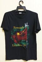 VINTAGE 80's 1981 THIN LIZZY ROCK METAL TOUR CONCERT PROMO T-SHIRT PHIL LYNOTT