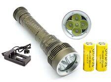 SKYRAY Diving Scuba 8000LM 5x CREE XM-L2 LED 100m Flashlight Torch 18650/26650 B