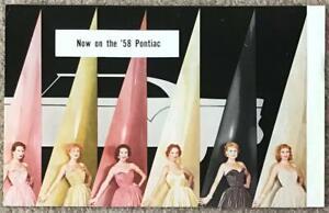 PONTIAC DU PONT LUCITE LACQUER Exterior Paint Colour Brochure USA 1958 #A4997P