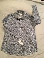 Men's Lucky Brand Button Up Shirt, Slim Fit, Size L, NWT! $79.50!