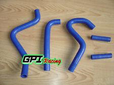silicone radiator hose FOR Kawasaki KX250 KX 250 2-stroke 2003 2004 blue