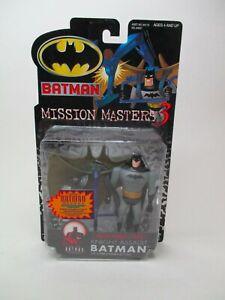 2000 BATMAN MISSION MASTERS SERIES 3 KNIGHT ASSAULT BATMAN ACTION FIGURE MOC NEW