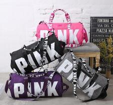 PINK Victorias Secret Gym Bag Large Beach Tote Sport Duffle Travel Weekender NEW