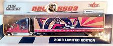 EDMONTON OILERS TRACTOR TRAILER NHL 2003 REPLICA SEMI DIECAST TRUCK 1:80 SCL