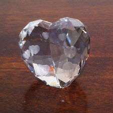 Swarovski Crystal Figurine Love Heart, Crystal Silver Shade, Medium 1096729